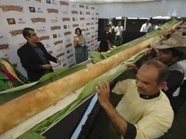 The biggest Dosa for the Guinness book of records: Krishna District collector Lakshmikantam