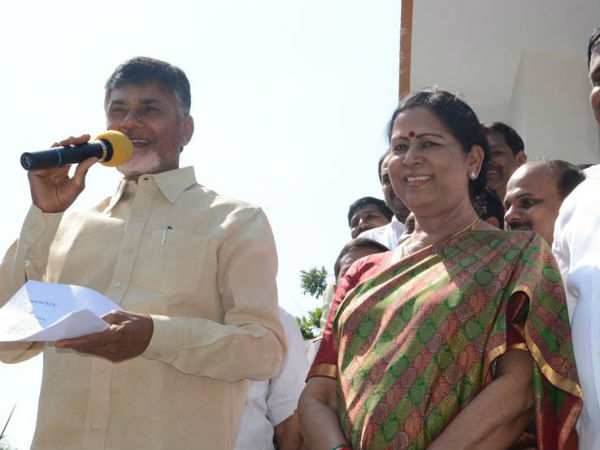 Aruna Kumari in Polit Bureau of TDP