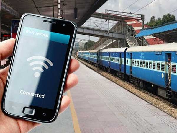 Googles free WiFi now available at 400 Indian Railways stations