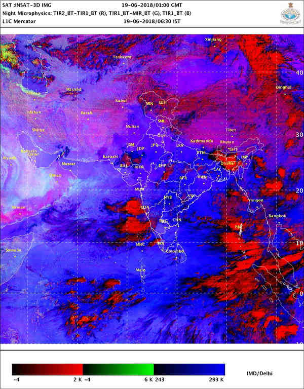 Monsoon updates: Dry days ahead in Delhi-NCR, monsoon to get delayed over peninsular India