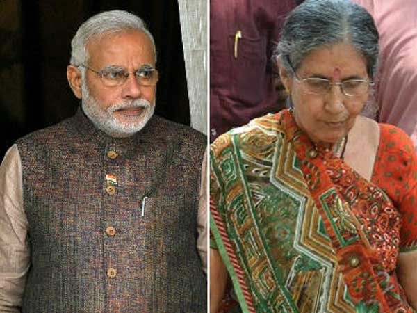 Jashodaben Snubs Anandiben Patel Pm Modi Is Not Unmarried He Married Me He Is Ram For Me