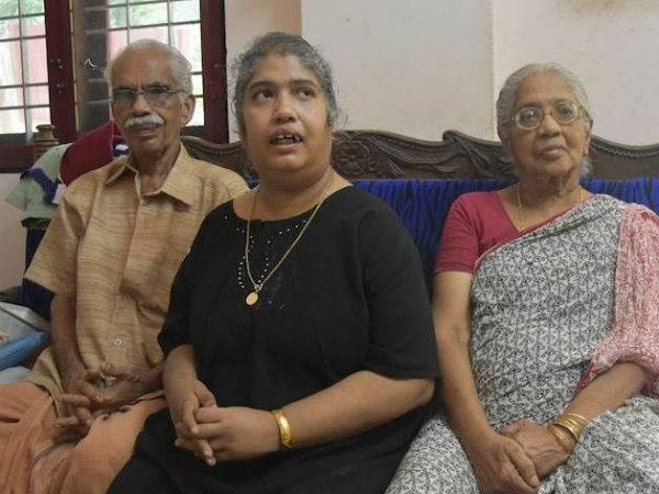 Kerala old couple donates their property for their ill daughter
