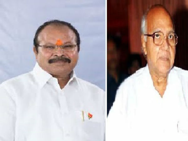 AP BJP Chief Kanna Lakshminarayana meeting with Ramoji Rao