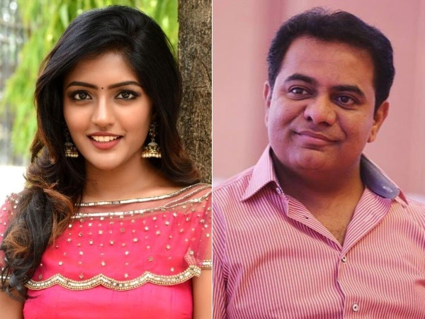 Thank You Ktr For Ur Quick Response Eesha Rebba