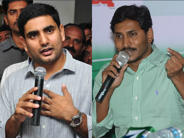 ys jagan should announce assets, demands nara lokesh