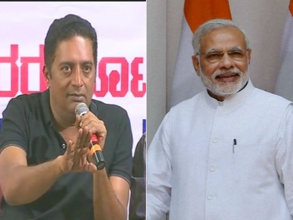 Prakash Raj lends support to Kejriwal, slams PM Modi, Swamy says Delhi CM is a naxalite