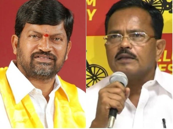 Telangana TDP chief L Ramana counter to Mothkupalli Narsimhulu