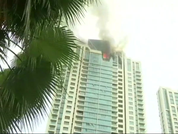 Mumbai: Fire breaks out at Beaumonde Towers in Worli, no casualties