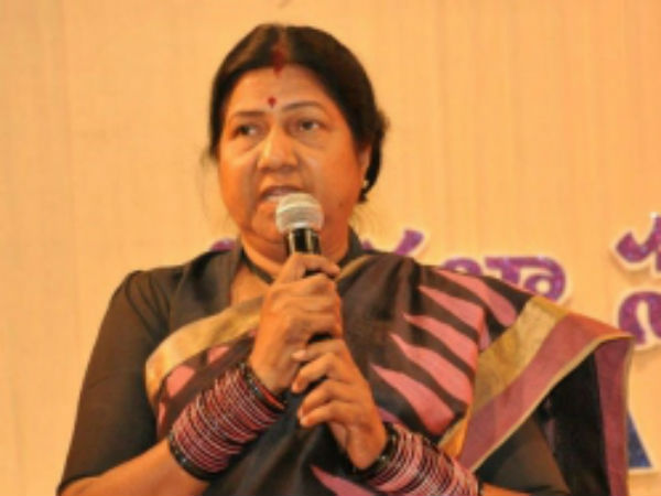 I committed to the same word on Male commission: Nannapaneni Rajakumari