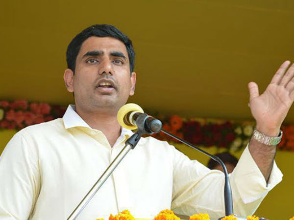nara lokesh fires at bjp and modi