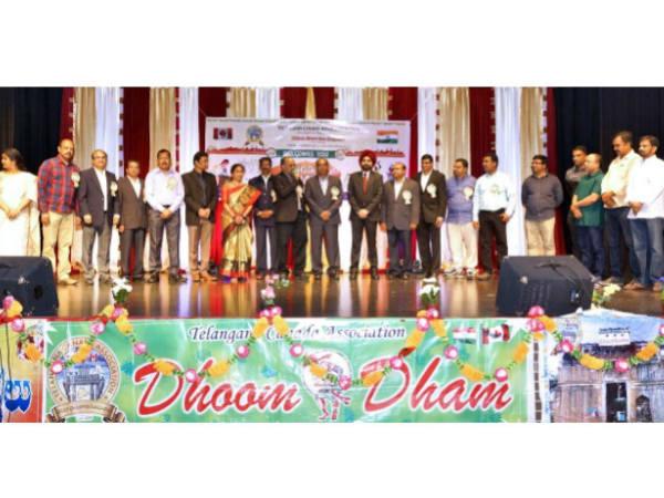 Telangana Canada Association Formation Day Celebrations