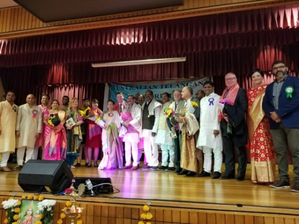 telangana formation day celebrations in Australia