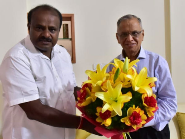 Narayana Murthy to be Karnatakas planning board chief, reveals CM Kumaraswamy