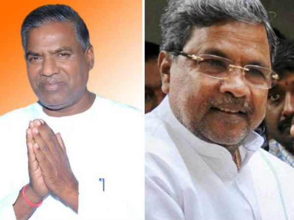 Siddaramaiah is willing to distroy this government in two minitues says Congress MLA