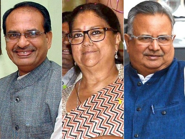 BJP to back its chief ministers in poll-bound Madhya Pradesh, Chhattisgarh, Rajasthan