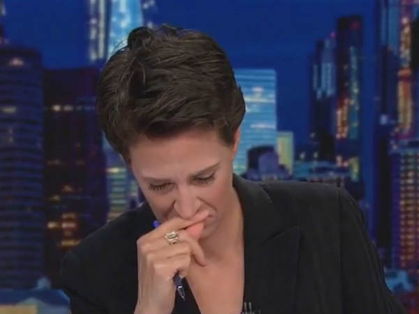 Rachel Maddow Breaks Down During Report On Tender Age Shelters