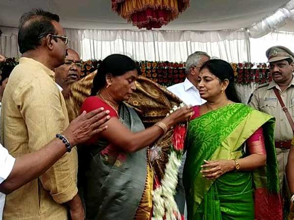 Srikanth Chary Mother Shankaramma Gets Emotional At Telangana Formation Day Cenebrations