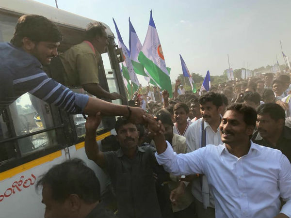 Police Orders YS Jagan To Change Route