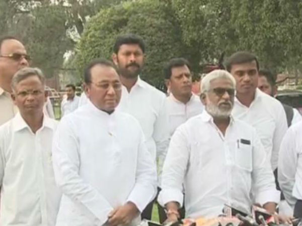 ysr congress party mps writes letter speaker once again