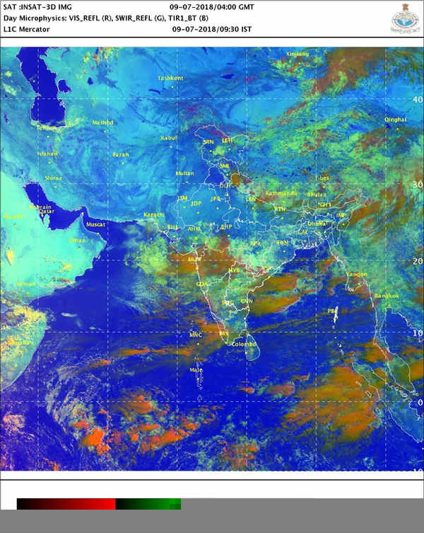 Monsoon updates: Rain fury to continue over Northwest India for next 48 hours