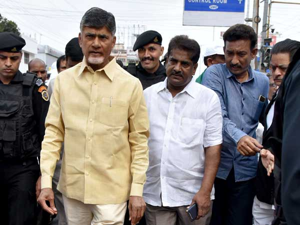 chandrababu invites ashok babu in to TDP