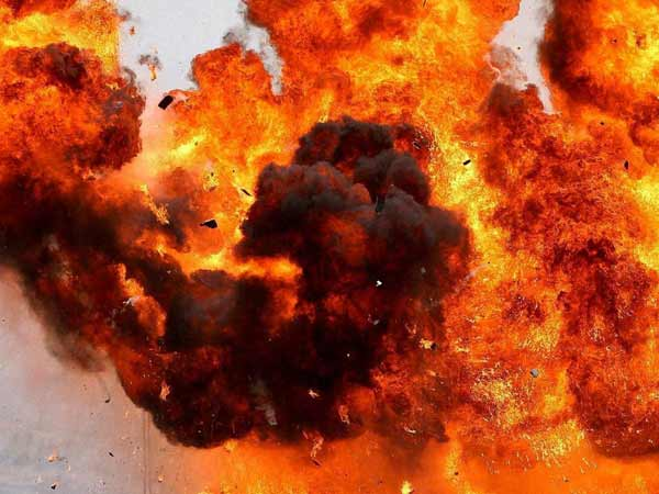 Bomb blast near Nandyal check post in Kurnool District