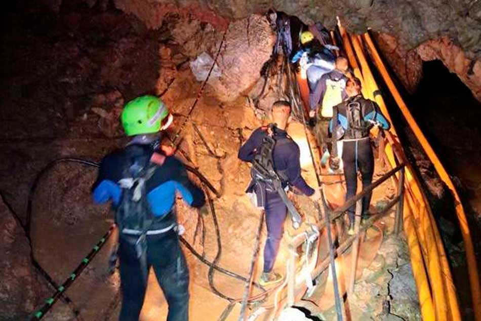 Thailand cave rescue: 11th boy rescued as mission to free last child and coach continues