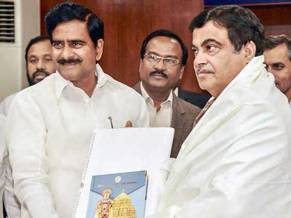 Nitin Gadkari to visit Polavaram project on July 11th