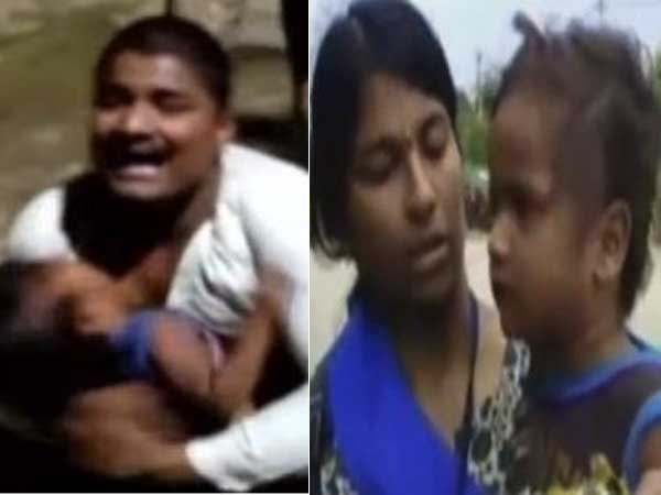 In Front Of Cops, 3 Year Old Child Assaulted By Drunk Father In Hyderabad