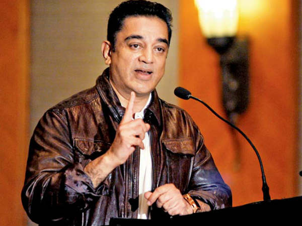 Where is the Freedom of expression in India: Kamal Haasan