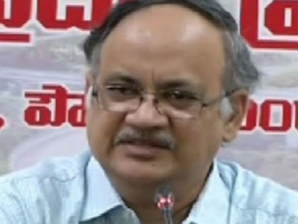 Our letters are shown ... Why do not you show what you wrote ?:Kutumba Rao fire on Central Government