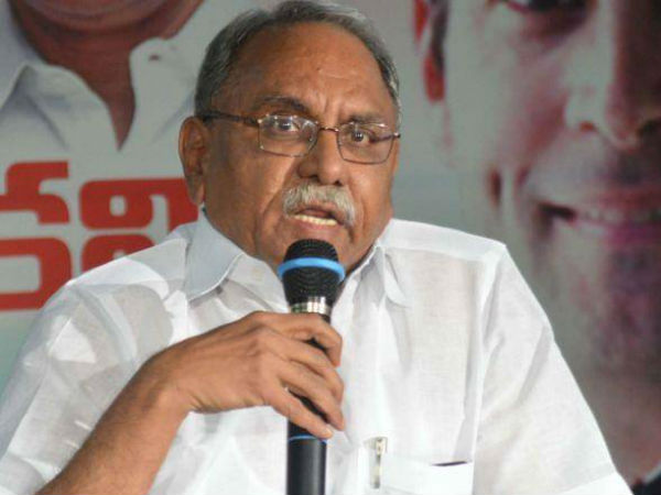 kvp ramachandra rao fires at centre for special status issue