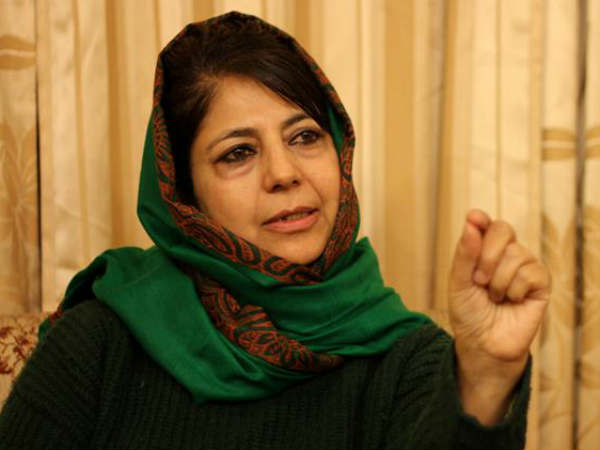 Mehbooba Mufti says if PDP breaks, Kashmir will face more terror