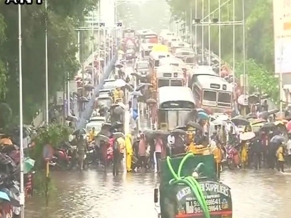 Non Stop Rain In Mumbai, Trains Hit, Schools Closed In Thane