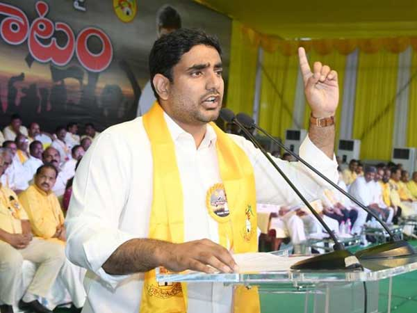Lokesh Challenged Oppositions Over Corruption Allegations