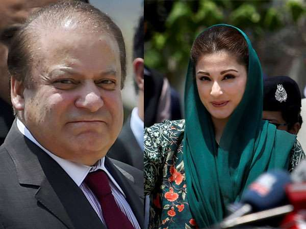 Sharif, Maryam to remain in jail until elections as court adjourns hearing on their appeals