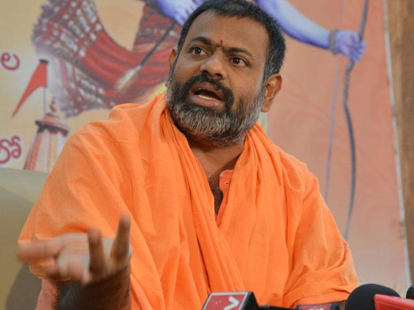 I Am Ready Padayatra If Government Agrees Paripoornananda Swami