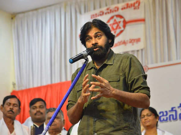 JanaSena Chief Pawan Kalyan inaugurating JSP IT Centre, Raidurgam, Hyderabad.
