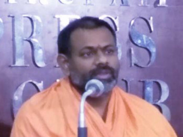 Swami Paripoornananda Fires On Kathi Mahesh Over His Comments