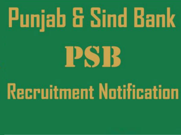 PSB recruitment notification for Managers and CTO