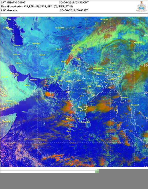 Monsoon updates: Rains to intensify over coastal Karnataka, Maharashtra between July 6-8