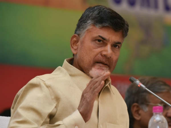 Chandrababu response on the sandal thrown incident over BJP Kanna