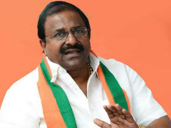 Then confessed... now changed the word: BJP MLC Somu Veerraju