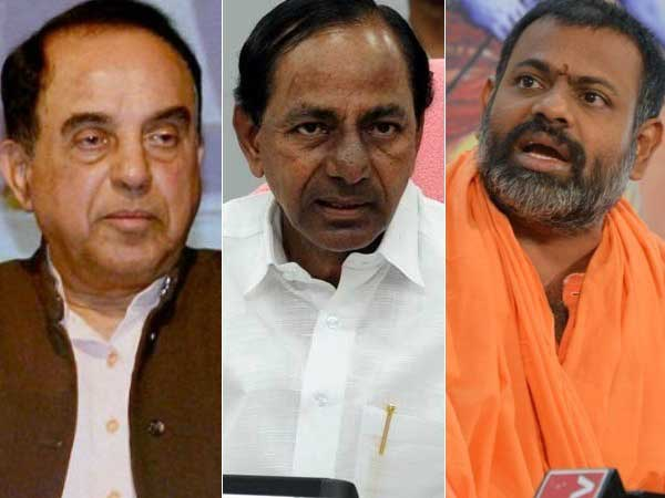 Subramanian Swamy objects externment order against Paripoornananda, warns of action through court