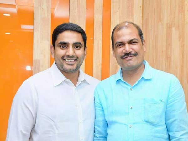 Kuwait Telugudesam Leader Meets Minister Nara Lokesh