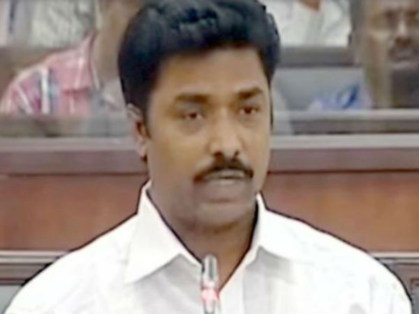 TDP offered me Rs. 40cr to join their party, says YSRCP MLA sunil kumar