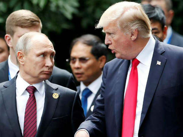 Historic summit between Trump and Putin,US President says'extraordinary relationship'