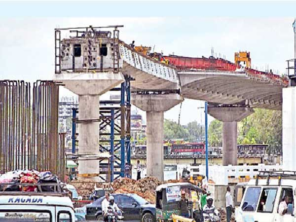 Another obstacle to the Vijayawada flyover construction