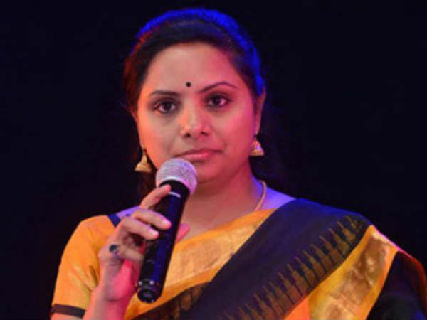 K Kavitha slams congress leaders
