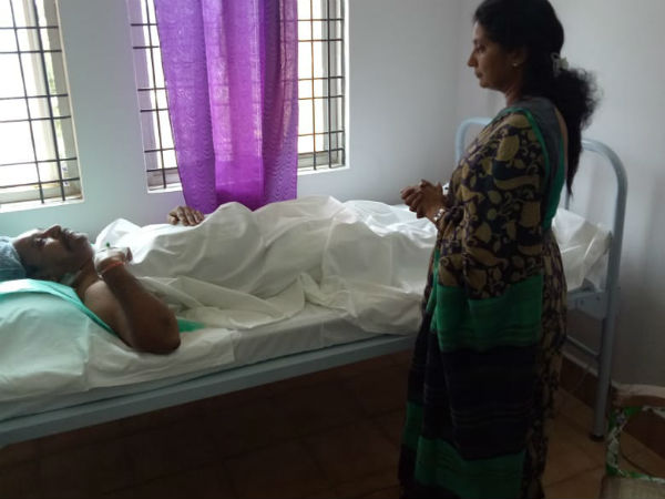 Minister N Amaranatha Reddy undergoes surgery at Palamaner Government hospital